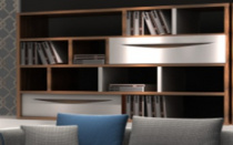 Стелаж - SG-K01/BOOKCASE , STEEL-ARTS ,  <>  ,   стиль