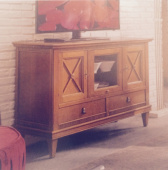 Стойка под TV - 23.34/L TV-TABLE SIDEBOARDS WITH TWO DOORS AND TWO DRAWERS , TOSATO ,  ДЕРЕВО  ,   стиль